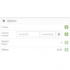 Opencart Custom Manual Invoice Number